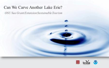 OSU Sea Grant Extension Sustainable Tourism Can We Carve Another Lake Erie?