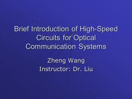 Phd thesis in electronics and communication