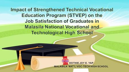 INTRODUCTION –one of the 282 Tech-Voc high schools in the Philippines –one of the nine (9) techvoc high schools in region 12 SOCKSARGEN –the ONLY tech-voc.