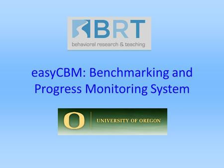 EasyCBM: Benchmarking and Progress Monitoring System.