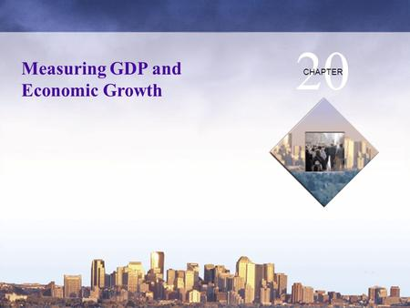 Copyright © 2006 Pearson Education Canada Measuring GDP and Economic Growth 20 CHAPTER.