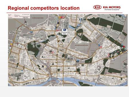 Regional competitors location. Candidate name: facility (Temporary solution)