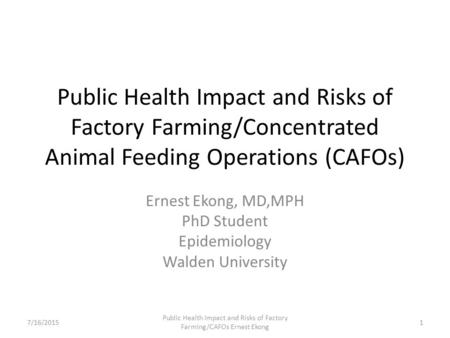 what should be done about the concentrated animal feeding operations situation Concentrated animal feeding operations are legally defined as industrial farming facilities that confine animals for 45 days or more within a year for their meat or .