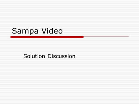 wacc sampa video Company valuation: dcf and multiples apv sampa video, concerning the expansion of a video version of dcf--using the weighted-average cost of capital.
