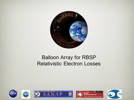 Balloon Array for RBSP Relativistic Electron Losses.