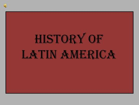 History of Latin America. Olmec Maya Toltec Aztec Inca Click on a Native American culture to learn more.