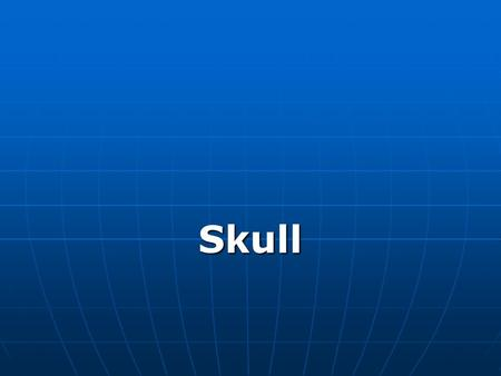 Lecture Skull.
