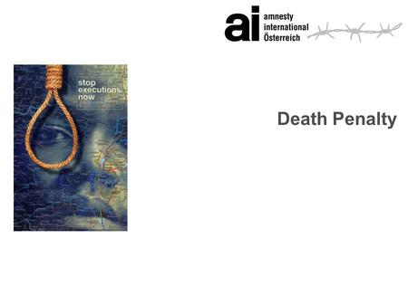 Death Penalty. 2 Facts and Figures s76 countries - for all crimes s15 countries - for all but exceptional crimes (e.g. wartime crimes) s20 countries can.
