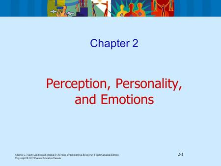 Perception, Personality, and Emotions