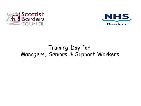 Managers, Seniors & Support Workers