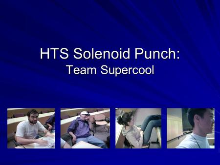 HTS Solenoid Punch: Team Supercool. The Story So Far  tos/boxeo/box-punch.jpg.