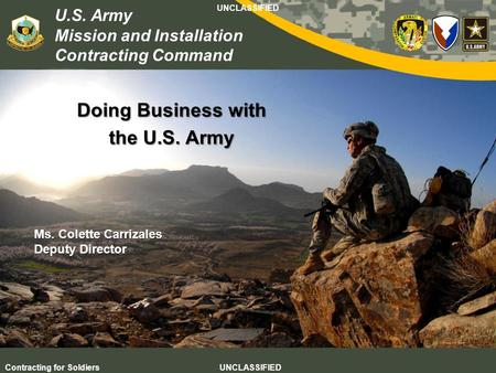 Doing Business with the U.S. Army