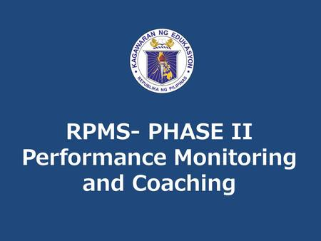 Performance Monitoring and Coaching