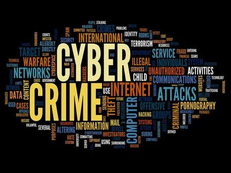 Cybercrime, aka computer crime, the use of a computer as an instrument to further illegal ends, such as committing fraud, trafficking in child pornography.
