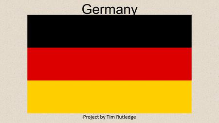 Germany Project by Tim Rutledge. Religion, Language, and Holiday Christianity Belief in one god. Beliefs center from the life of Jesus of Nazareth,