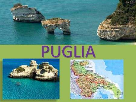 PUGLIA. In Puglia there are a lot of famous people. We remember: Al Bano, stage name of Albano Carrisi (Cellino San Marco, May 20, 1943), is a singer.