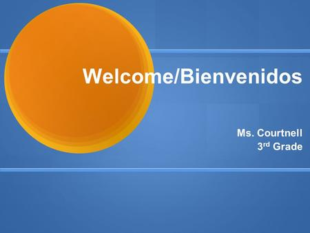 Welcome/Bienvenidos Ms. Courtnell 3 rd Grade. Agenda ● Class Website /sitio web de clase  ● Standards/normas ● Curriculum/currículo.