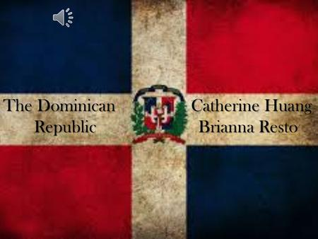 The Dominican Catherine Huang Republic Brianna Resto.