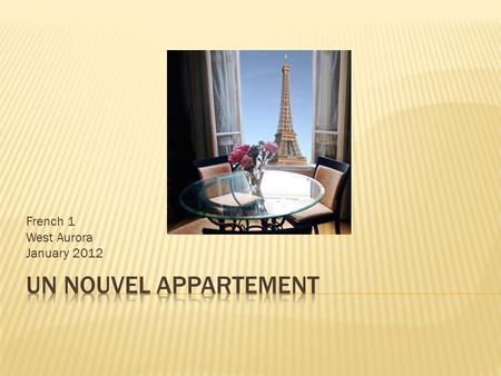 Learning to describe rooms at home ppt video online for Aurora maison de cuisine