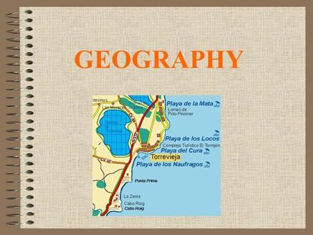 GEOGRAPHY. Torrevieja It's a city located in the province of Alicante. It's in the south east of Spain, and it is a seaside city. It is located on Costa.