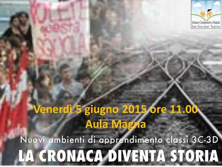 Venerdì 5 giugno 2015 ore 11.00 Aula Magna. Photo by mkhmarketing - Creative Commons Attribution License