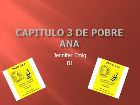 Jennifer Emig B1. --no. Solo de septiembre hasta junio. --no. Only September to June.
