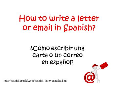 how do you write in spanish How do you write is in spanish is in english is the third person present form of to be in spanish, there are two verbs for to be, that depend on useage.