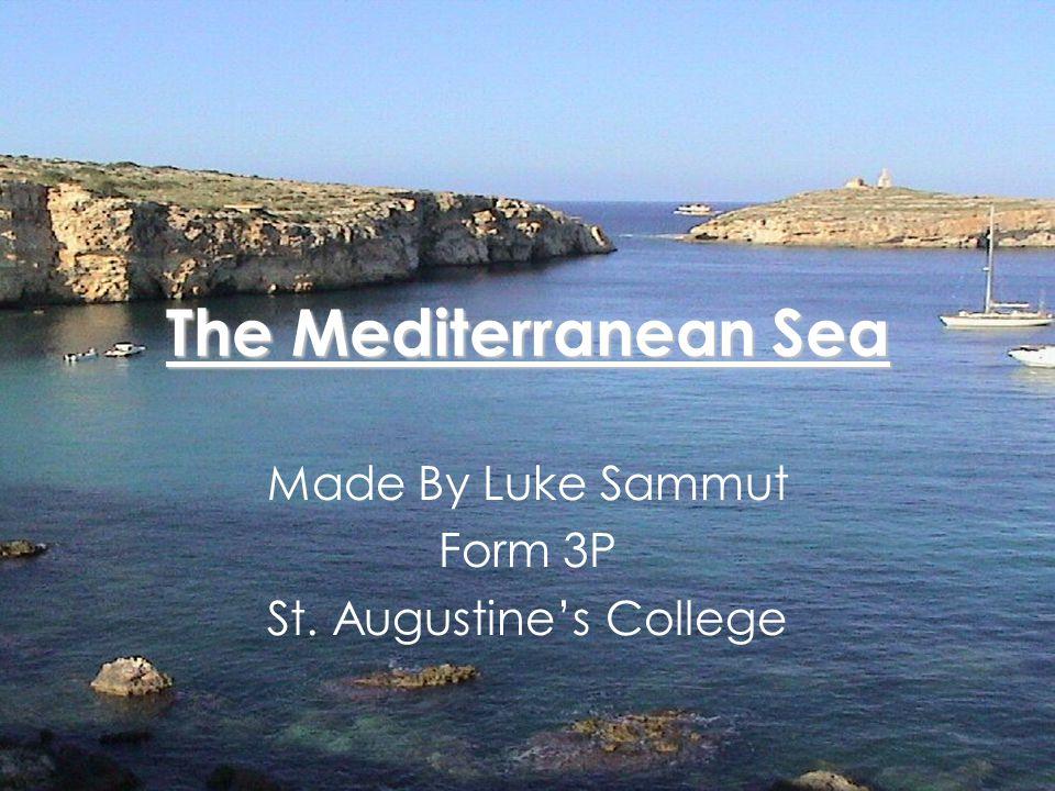 Index Brief History on the Mediterranean Sea.Facts about the Mediterranean Sea.