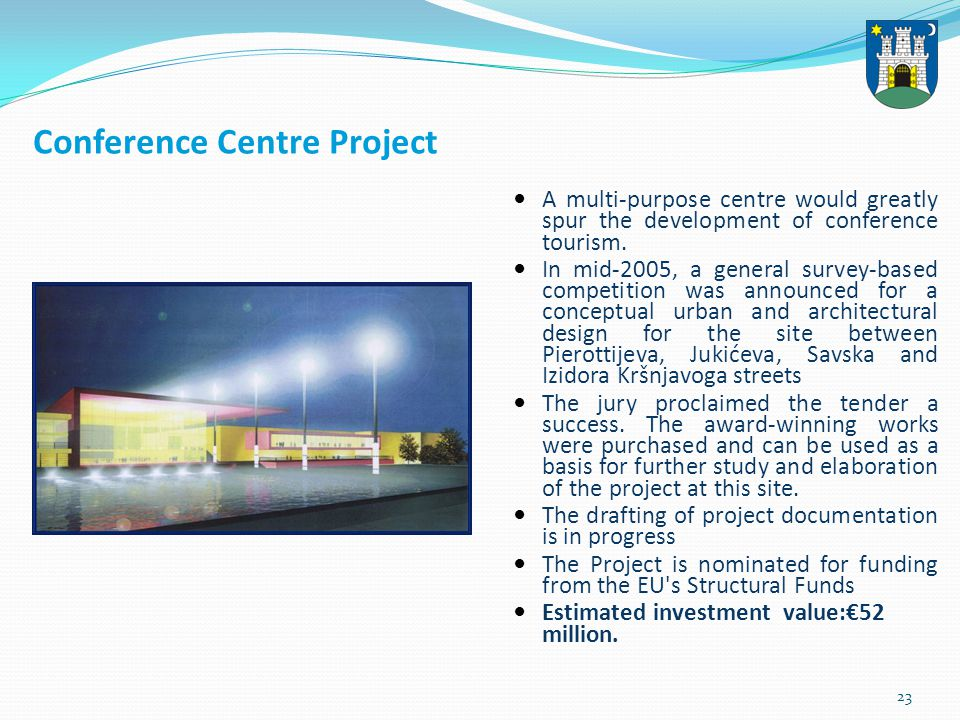 24 Sole Trades Centre Project The project has been planned in the Kajzerica district next to the URIHO site.