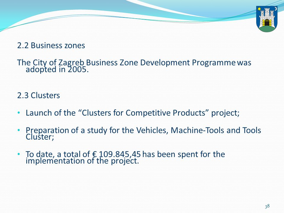 39 Structure of funds spent to implement Programme incentive measures and activities ( September 2000 – December 2012) 34.592.340.14 34.592.340.14