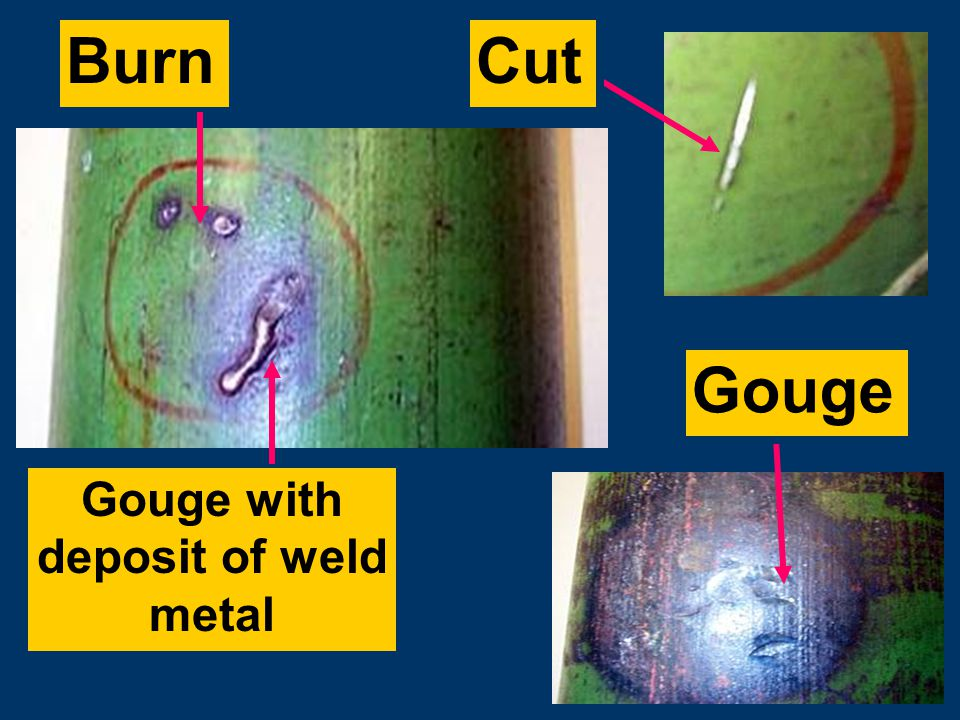 Subtitles & Transitions FOR EXAMPLE… General corrosion with pitting - reducing cylinder strength