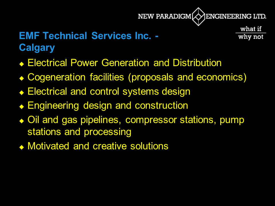 EMF Technical Services Inc.