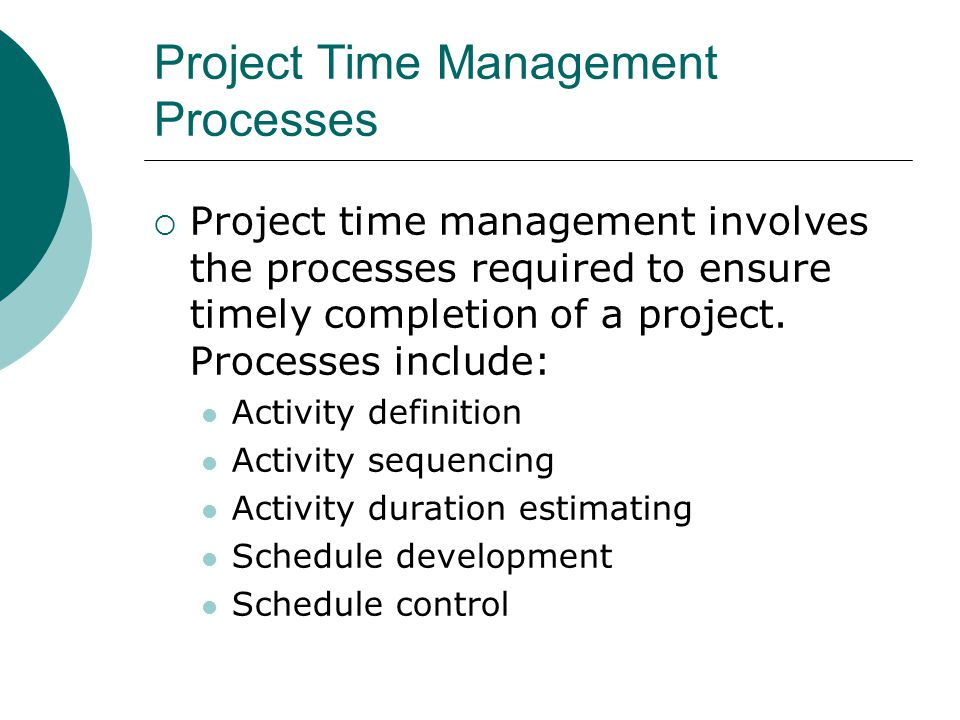 Activity Definition Project schedules grow out of the basic document that initiate a project Project charter includes start and end dates and budget information Scope statement and WBS help define what will be done Activity definition involves developing a more detailed WBS and supporting explanations to understand all the work to be done so you can develop realistic duration estimates