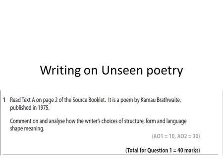 Writing a metaphor poem about myself