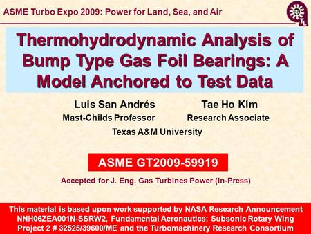 This material is based upon work supported by NASA Research Announcement NNH06ZEA001N-SSRW2, Fundamental Aeronautics: Subsonic Rotary Wing Project 2 #