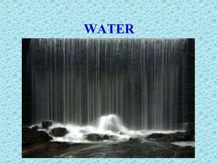 WATER. Water and the Body Fluids The main role of water is to maintain an appropriate water balance to support vital functions. To maintain water homeostasis,
