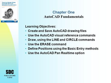 Chapter One AutoCAD Fundamentals