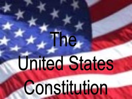 We the people of the United States, in order to form a more perfect union, establish justice, insure domestic tranquility, provide for the common.