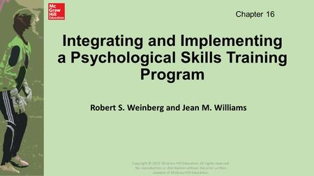 Integrating and Implementing a Psychological Skills Training Program