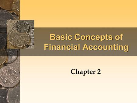 Basic Concepts of Financial Accounting