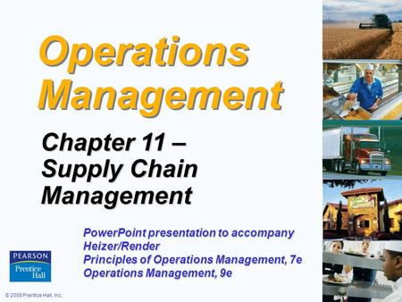 Operations <strong>Management</strong>