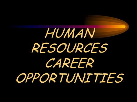 HUMAN RESOURCES CAREER OPPORTUNITIES. Human Resources Professionals Variety Inside Story Challenge Power.