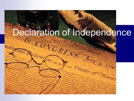 the reasons behind the revolution of america and the declaration of independence from britain The events leading to independence  few would have predicted that by 1776 a revolution would be unfolding in british america.