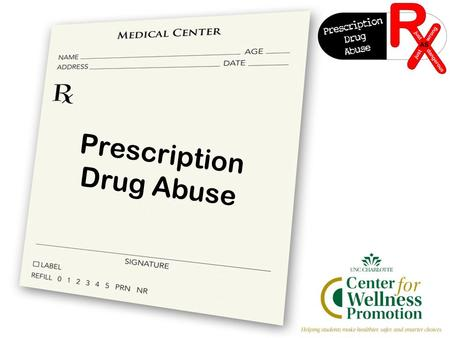 Prescription Drug Abuse. What is prescription drug abuse? Taking drugs for reasons or in ways or amounts not intended by the doctor The use of drugs by.