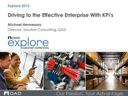 Driving to the Effective Enterprise With KPI's