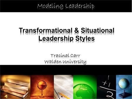 The purpose of this presentation is to introduce you, or refresh your knowledge, and help you to identify a leadership style, which you believe best fits.