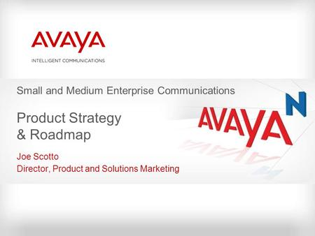 Small and Medium Enterprise Communications Product Strategy & Roadmap