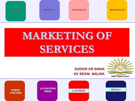 SUDHIR KR SINHA KV SEONI MALWA SYRUPInterview PUBLIC UTILITIES ACCOUNTING FIRMS LAW FIRMS HOSPITALITYINSURANCEHOSPITALAIRLINES HOTELS MARKETING OF SERVICES.