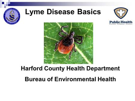Harford County Health Department Bureau of Environmental Health