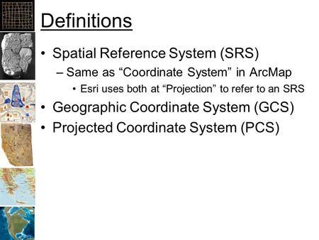 Coordinate Reference Systems Ppt Download - Univerasl us coodirnate system arc map
